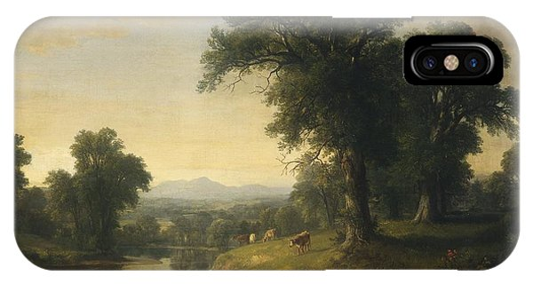 iPhone Case - A Pastoral Scene by Asher Brown Durand