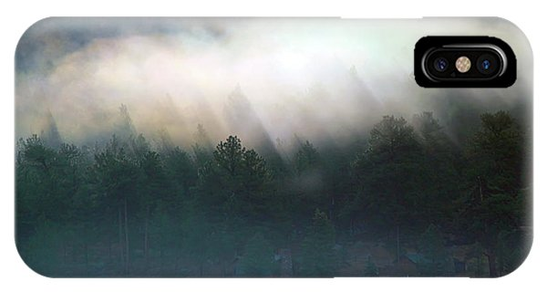 IPhone Case featuring the photograph A Patch Of Fog by Shane Bechler