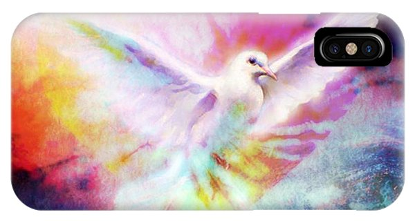 A Peace Dove IPhone Case
