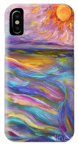 A Peaceful Mind - Abstract Painting IPhone Case