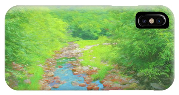 A Peaceful Summer Day In Southern Vermont. IPhone Case