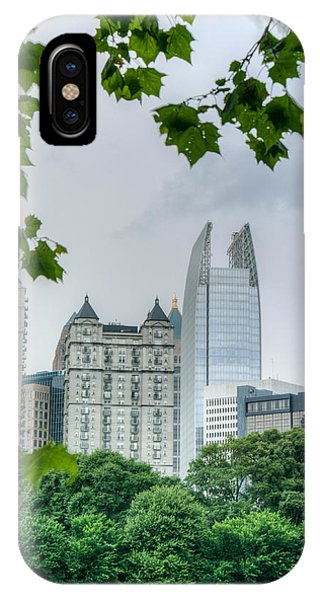 A Peek At The Atlanta Skyline IPhone Case