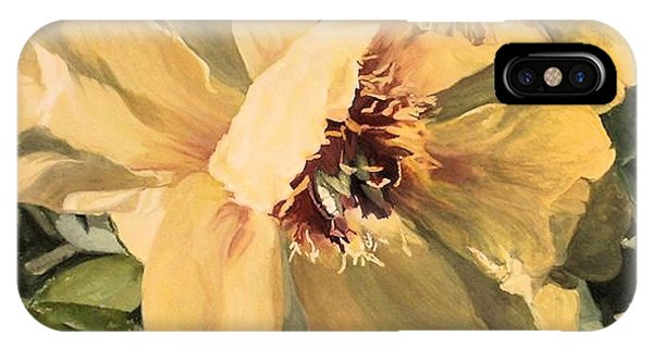 A Peony For Miggie IPhone Case