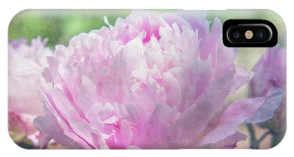 Peony iPhone Case - A Peony For Mom by Terry Davis