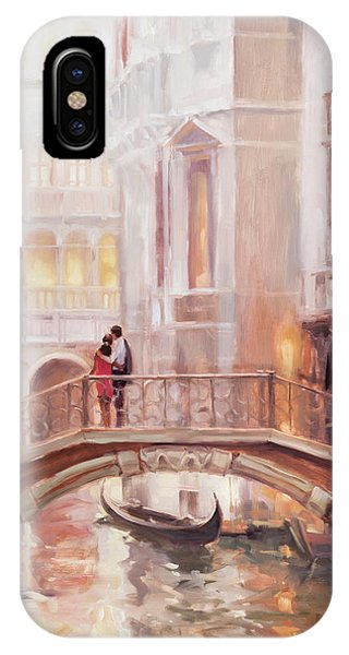 Arched iPhone Case - A Perfect Afternoon In Venice by Steve Henderson