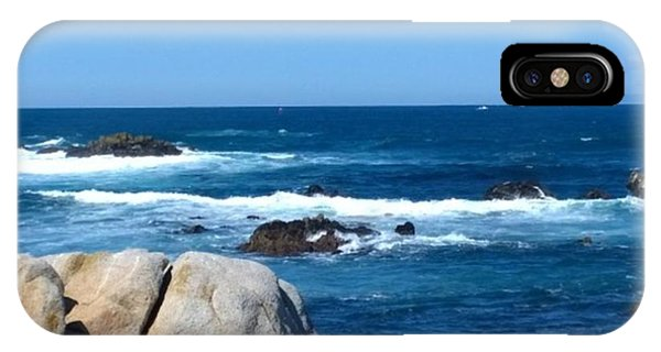 Beach iPhone Case - A Perfect Day For A Drive To #santacruz by Shari Warren
