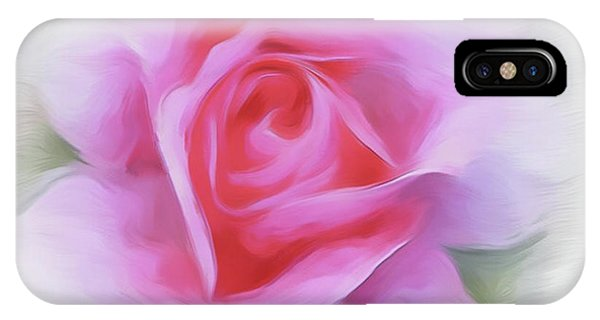 A Perfect Pink Rose IPhone Case
