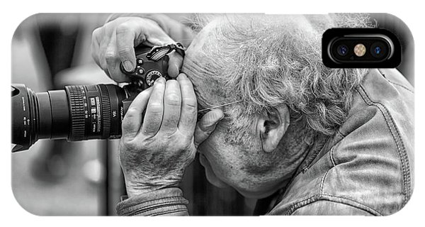 A Photographers Photographer IPhone Case