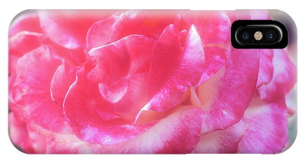 IPhone Case featuring the photograph A Pink Rose by John Brink
