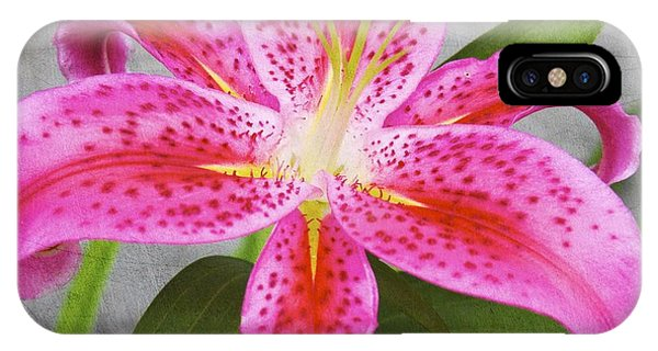 A Pink So Vivid I Can Almost Taste It IPhone Case