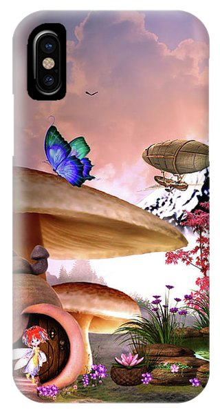 A Pixie Garden IPhone Case