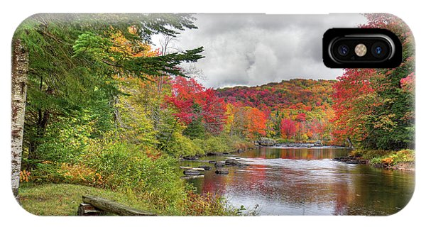 A Place To View Autumn IPhone Case