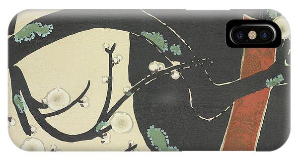 A Plum Tree IPhone Case