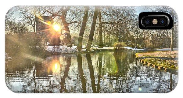 A Pond In Rotterdam IPhone Case