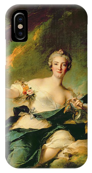 A Portrait Of Anne Josephe Bonnnier De La Mossau  IPhone Case