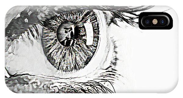 A Prayerful Eye IPhone Case