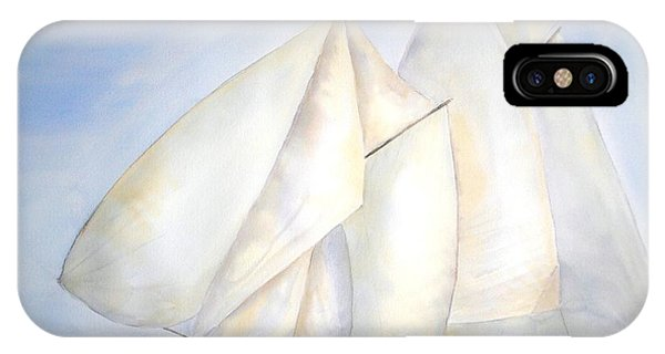 A Press Of Sails IPhone Case