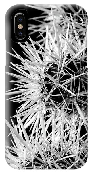 A Prickly Subject IPhone Case