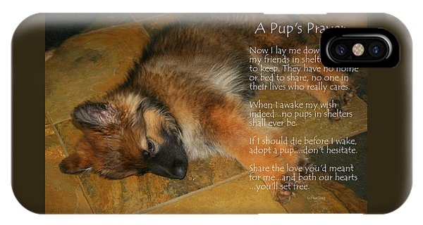 A Pup's Prayer IPhone Case