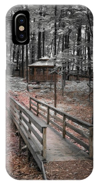 Hiking Path iPhone Case - A Quiet Place by Tom Mc Nemar