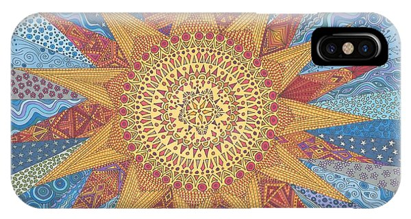 A Quilt Of Sunshine IPhone Case