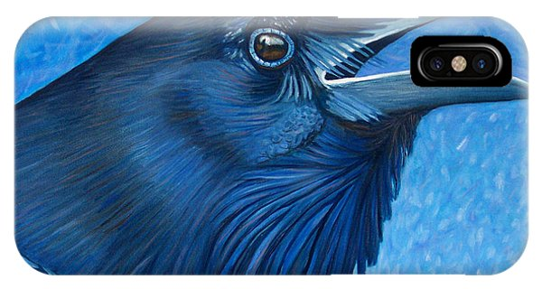 A Raven's Prayer IPhone Case