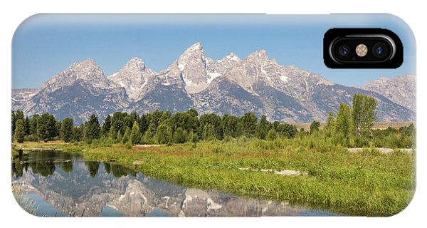 A Reflection Of The Tetons IPhone Case