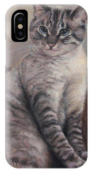 A Regal Pose IPhone Case