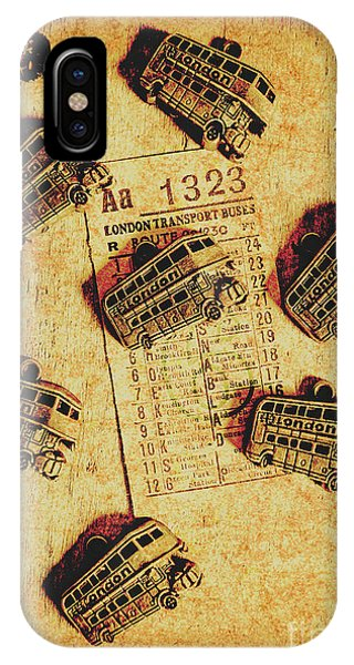 Fare iPhone Case - A Return To Old London by Jorgo Photography - Wall Art Gallery