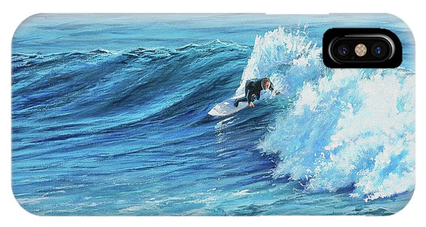 A Ride On Steamer Lane IPhone Case