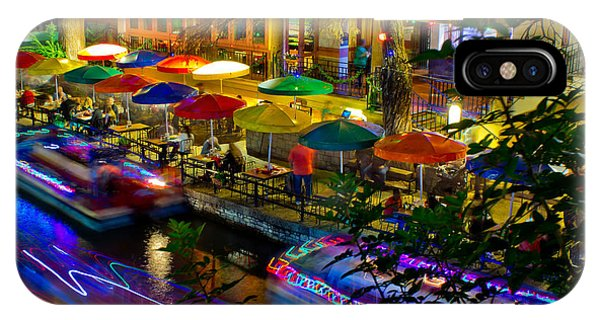 A San Antonio River Walk Christmas IPhone Case