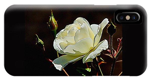 A Rose Digital Art IPhone Case