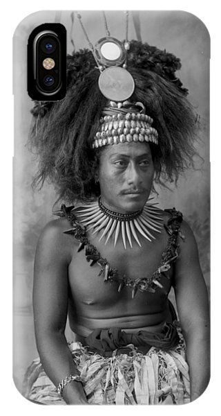 A Samoan High Chief IPhone Case