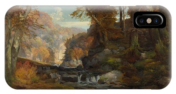 A Scene On The Tohickon Creek IPhone Case