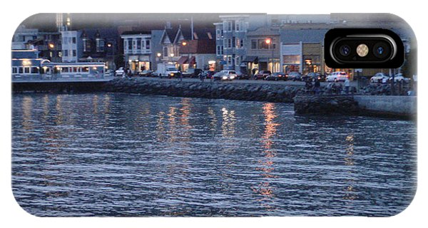 A Scenery Of Sausalito At Dusk IPhone Case