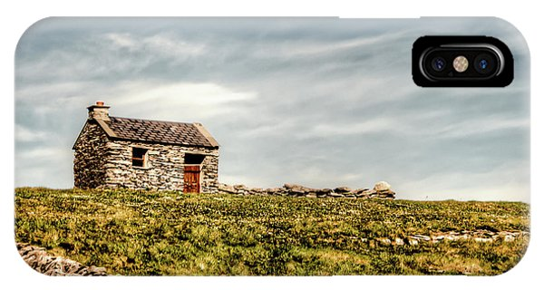 A Shack On The Aran Islands IPhone Case