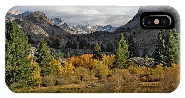 A Sierra Mountain View IPhone Case