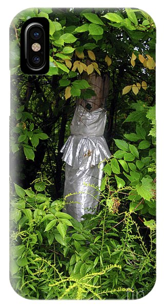 A Silver Gown In A Glade IPhone Case