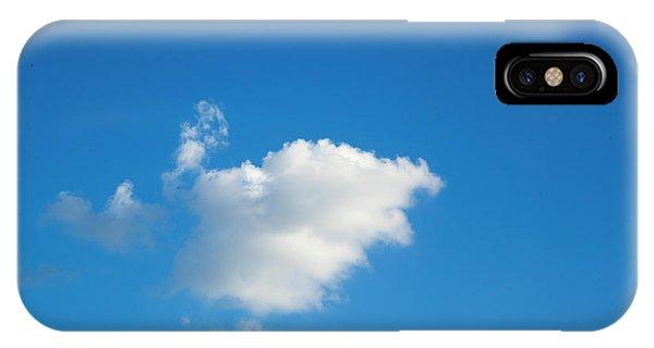 A Single Cloud IPhone Case