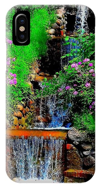 A Small Waterfall In Hbg Sweden IPhone Case