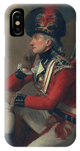 British Empire iPhone Case - A Soldier Called Major John Andre by English School