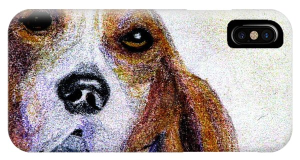 A Soulful Hound IPhone Case