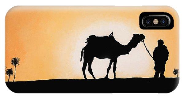 Camel iPhone Case - A Spasso Col Cammello by Guido Borelli