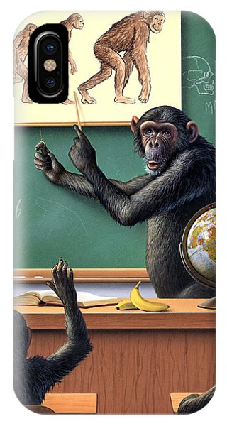 Classroom iPhone Case - A Specious Origin by Jerry LoFaro