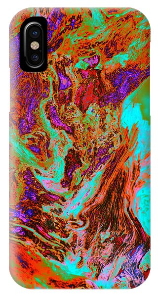 A Splash Of Color In The Weeds IPhone Case