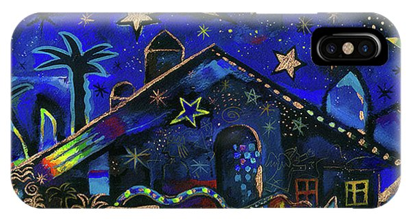iPhone Case - a star in Bethlehem by Johannes Margreiter