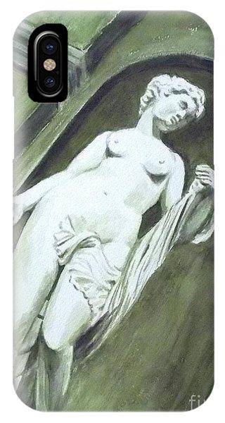 A Statue At The Toledo Art Museum - Ohio IPhone Case