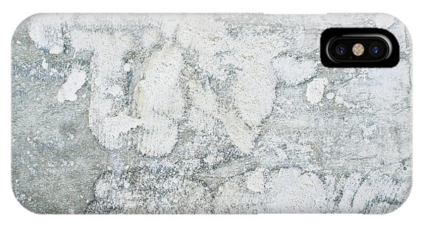 Cement iPhone Case - A Stone Background by Tom Gowanlock