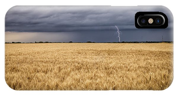 A Storm Passing By IPhone Case