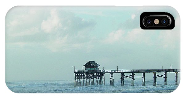 A Storm's Brewing IPhone Case